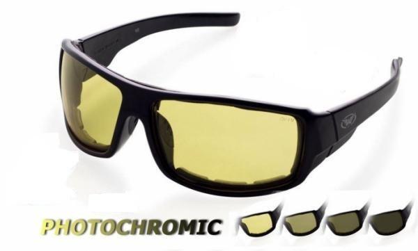Окуляри захисні фотохромні Global Vision ITALIANO Plus Photocromic (yellow) жовті фотохромні