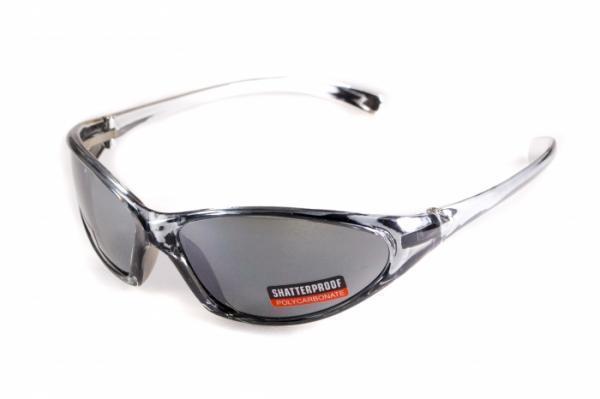 Очки защитные открытые Global Vision LISA (gray) серые