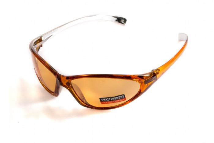 Окуляри захисні відкриті Global Vision LISA (orange) помаранчеві