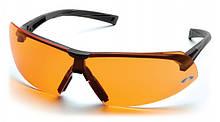 Очки защитные открытые Pyramex ONIX (orange) оранжевые