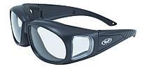 Окуляри захисні з ущільнювачем Global Vision OUTFITTER (clear) прозорі