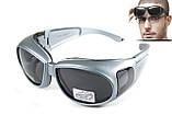 Окуляри захисні з ущільнювачем Global Vision OUTFITTER Metallic (gray) сірі, фото 5