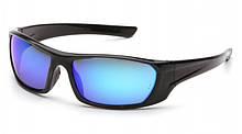 Очки защитные открытые Pyramex OUTLANDER (ice blue mirror) синие зеркальные