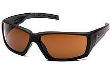 Очки защитные открытые Venture Gear Tactical OVERWATCH (bronze) коричневые