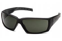 Очки защитные открытые Venture Gear Tactical OVERWATCH (forest gray) серо-зеленые