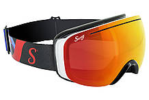 Лыжные маски Swag PIPE VISION (G-Tech™ red) красные зеркальные