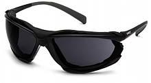 Очки защитные с уплотнителем Pyramex PROXIMITY (Anti-Fog) (dark gray) черные