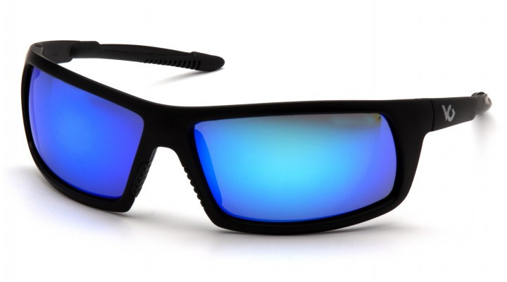 Окуляри захисні відкриті Venture Gear Tactical STONEWALL (ice blue mirror) сині дзеркальні