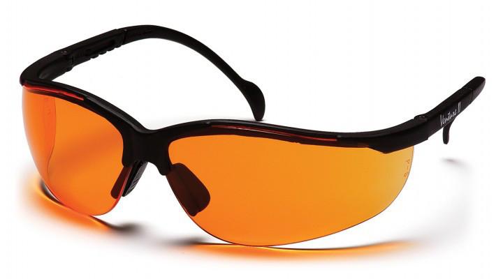Окуляри захисні відкриті Pyramex VENTURE-2 (orange) помаранчеві