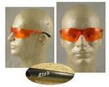 Окуляри захисні відкриті Pyramex ZTEK (coffee) коричневі, фото 6