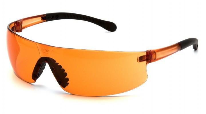 Очки защитные открытые Pyramex PROVOQ (orange) оранжевые