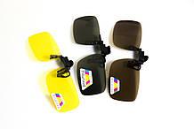 Полярізаційна накладка на окуляри (жовта)