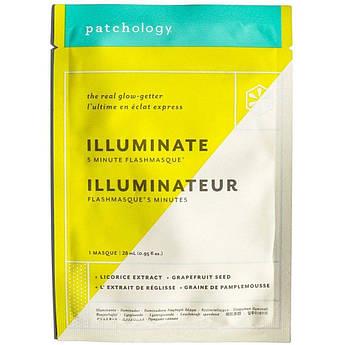 Маска для осветления и сияния кожи Patchology FlashMasque Illuminate 28 мл