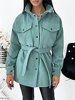 """Пальто жіноче арт. 1455 (42-44, 46-48) """"ANNABELLE"""" недорого від прямого постачальника AP"""