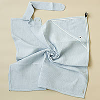 """Вафельное полотенце """"Wafel"""", голубое"""