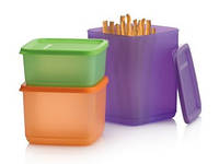 Набор контейнеров Кубикс Tupperware (650 мл, 1 л, 1,8 л)