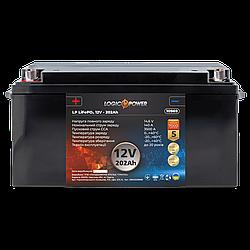 Аккумулятор для автомобиля литиевый LP LiFePO4 12V - 202 Ah (+ слева, прямая полярность) пластик