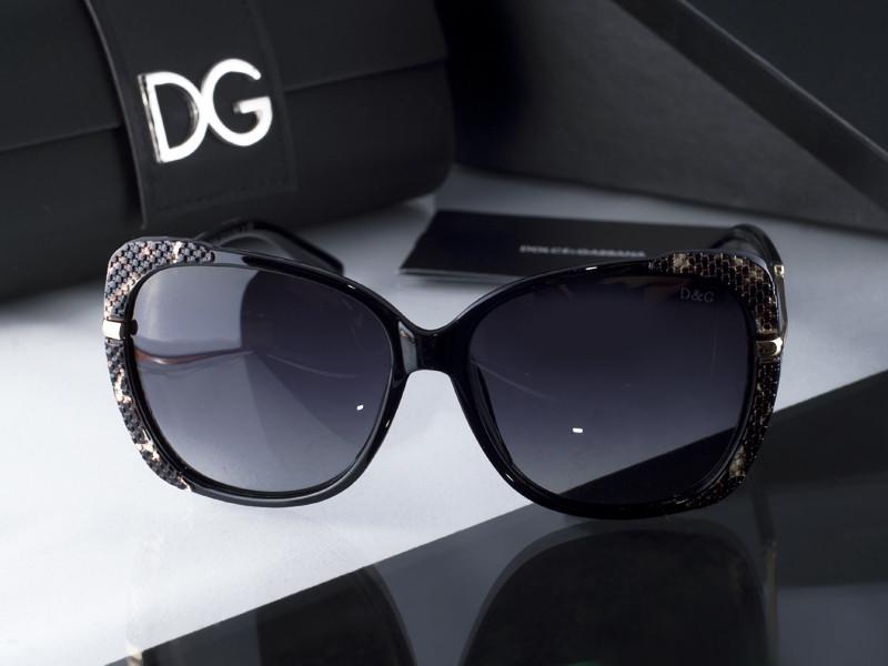 Dolce & Gabbana 6528 (черно-коричневые)