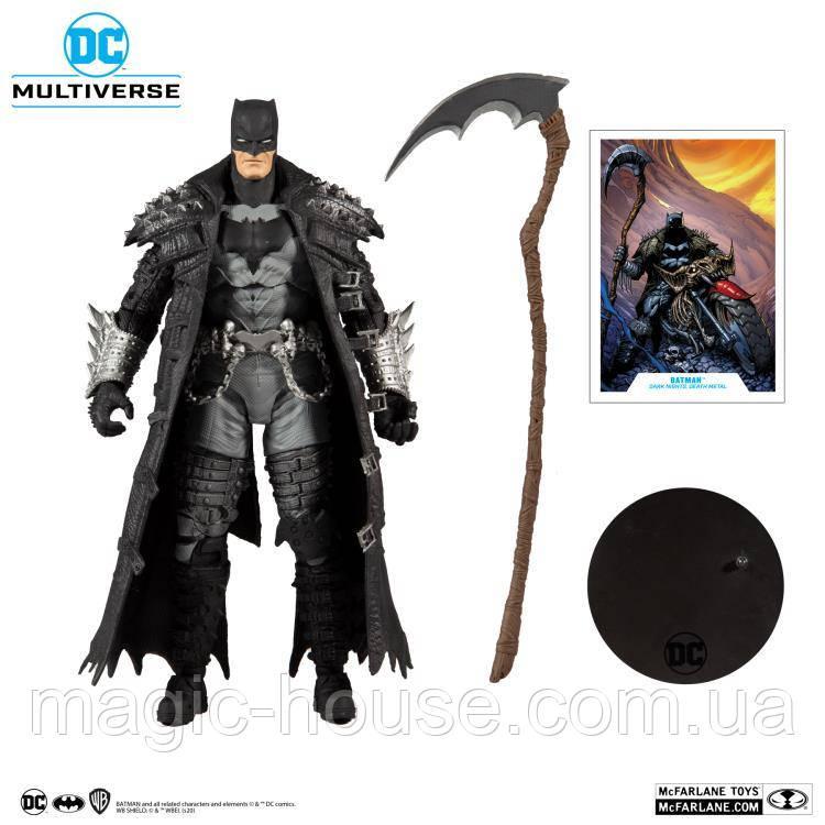 Фигурка  McFarlane Бэтмен Дэт-Метал DC Multiverse Death Metal Batman Оригинал