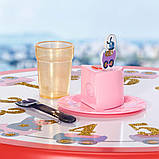 """Набір меблів для ляльки baby born серії """"день народження"""" - вечірка з тортом (стіл, стільці, аксесс.), фото 2"""