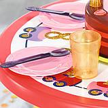 """Набір меблів для ляльки baby born серії """"день народження"""" - вечірка з тортом (стіл, стільці, аксесс.), фото 3"""