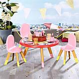 """Набір меблів для ляльки baby born серії """"день народження"""" - вечірка з тортом (стіл, стільці, аксесс.), фото 4"""