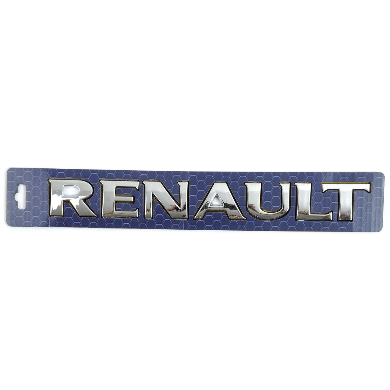 "Емблема - напис ""RENAULT Trafic-Master скотч 3М 267х30 мм (8200522593)"