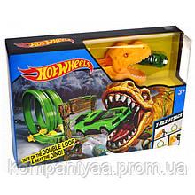 """Детский игровой набор """"Трек Динозавр"""" Hot Wheels QQ8836"""