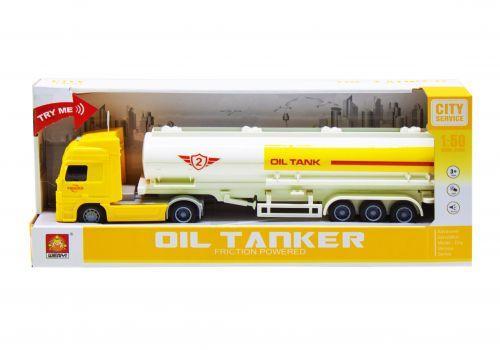 """Трейлер """"Container truck"""" (желтый)"""