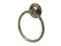 Кольцо для полотенец, цвет бронза