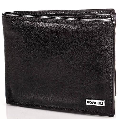 Качественное мужское портмоне из натуральной кожи Georges Chabrolle Артикул: FARE90003-2 черный