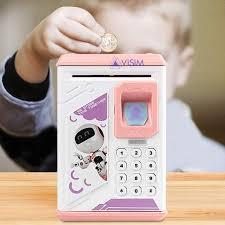 Детский электронный сейф-копилка Робот ROBOT BODYGUARD Интерактивная детская игрушка