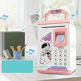 Детский электронный сейф-копилка Робот ROBOT BODYGUARD Интерактивная детская игрушка, фото 4