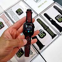 Умные смарт часы Smart Watch Series 6 Т55 44mm 2 ремешка беспроводная зарядка