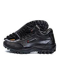 Чоловічі зимові шкіряні черевики Columbia ZK Antishok Winter Shoes (репліка), фото 1
