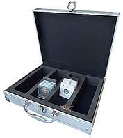Кейс для монет в капсулах квадро - SAFE Alu