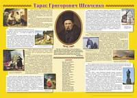 Плакат Біографія Т. Г. Шевченка
