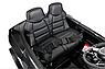 Дитячий електромобіль Ауді з шкіряним сидінням, Audi R8 Spyder чорний, фото 6