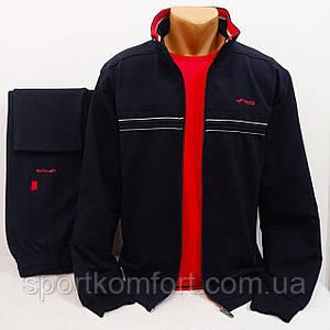 Турецкий демисезонный прогулочно спортивный костюм FORE оригинальный  хлопок 74 карманы на молнии
