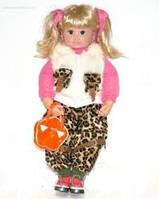 Интерактивная кукла КСЮША 5175, 5176, 5177, 5178, 5179 1JT. 6 видов, мимика, поет песенку.