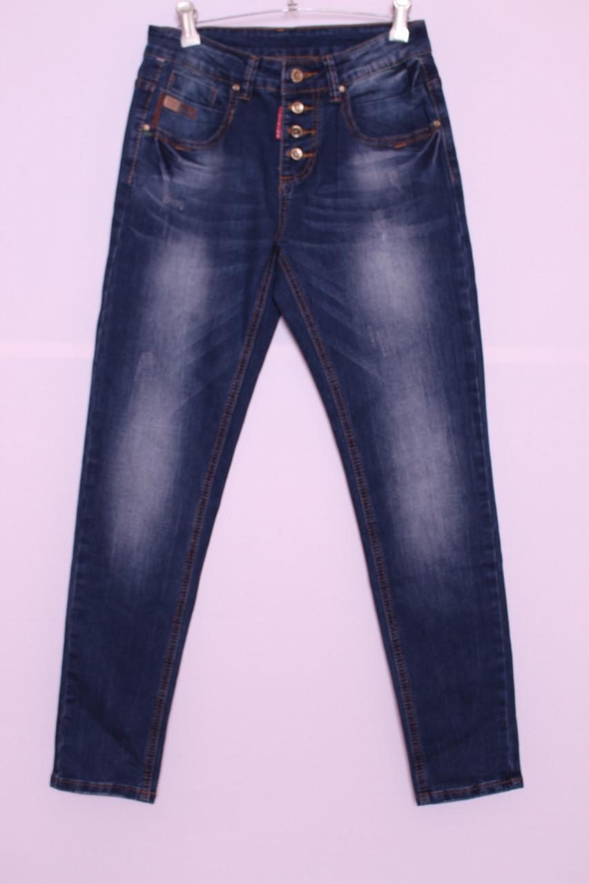 Женские  джинсы бойфренды New Jeans код 5629