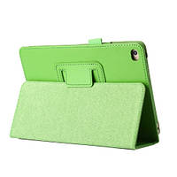Зеленый чехол обложка для Apple iPad Pro из синтетической кожи.