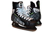 Ковзани хокейні PVC  (р-р 39-45, лезо - сталь)