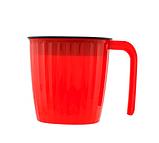 Соковыжималка Meileyi 2в1 Juicer and Ice Cream шнековая ручная универсальная с набором насадок Красная, фото 6