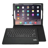 Черный чехол со съемной Bluetooth клавиатурой для Ipad Pro