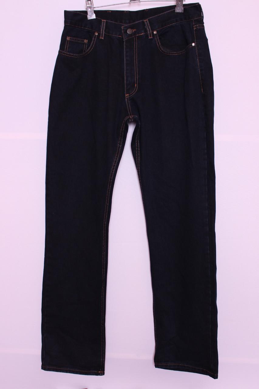 Чоловічі джинси великі розміри без потертостей код 601