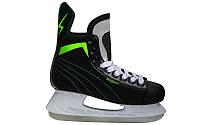 Ковзани хокейні PVC  (р-р 41-45, лезо - сталь)