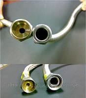 Подводка для газа сильфонная без покрытия 1/2 1/2 L 40 см