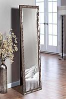 Підлогове дзеркало в кольорі графіт 1650х400 мм, фото 1