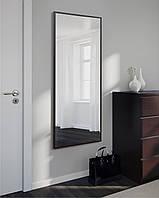 Дзеркало настінне, прямокутне, венге 1300 х 600, фото 1